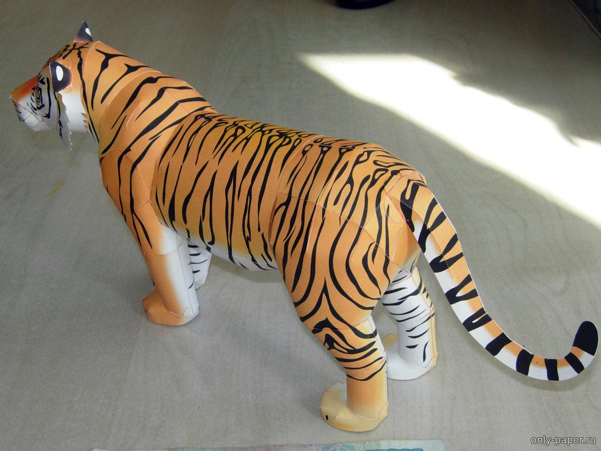 Тигр сделан своими руками 515