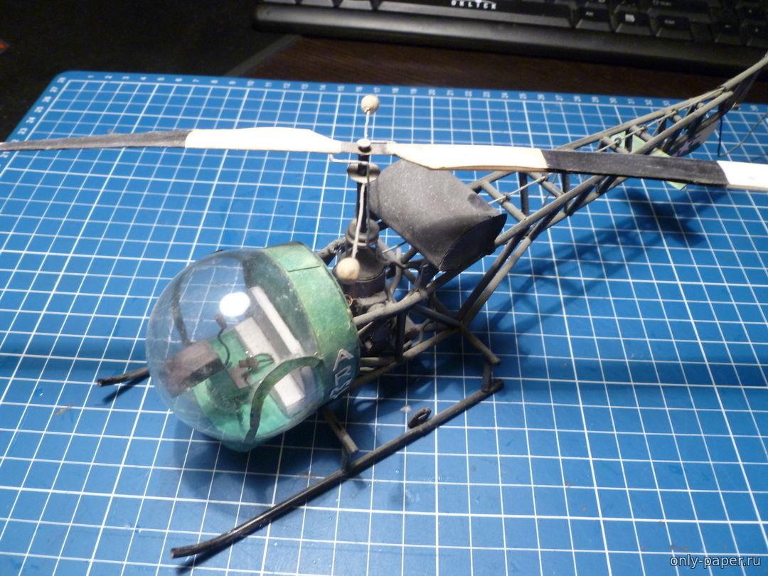 Вертолет игрушечный своими руками 18