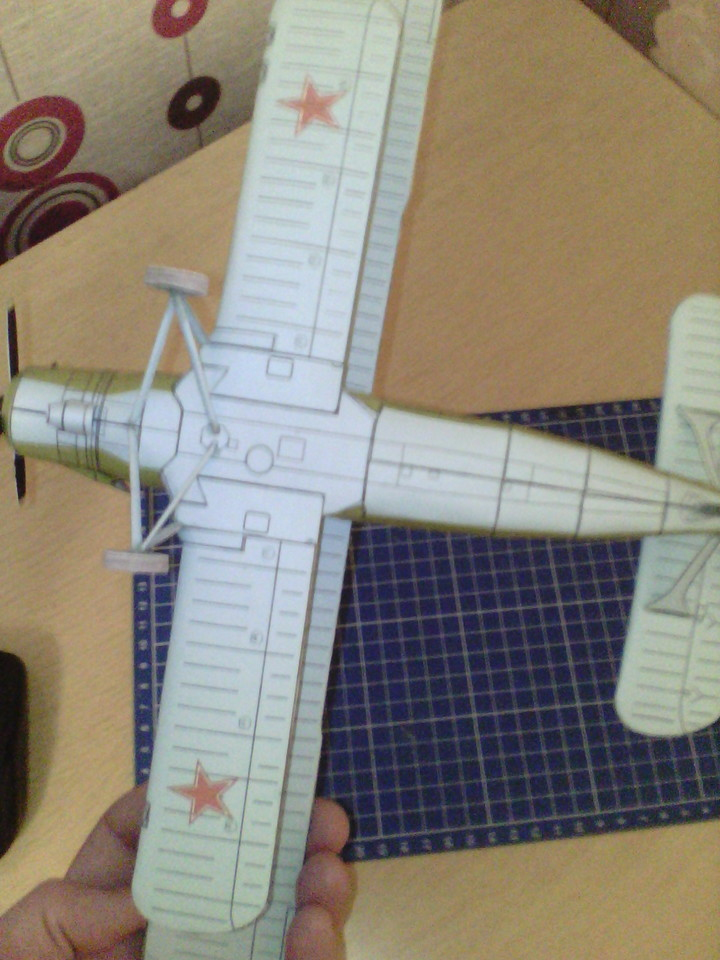 Как сделать самолёт из бумаги кукурузник