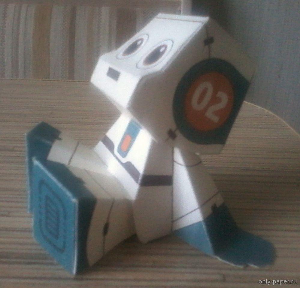 Робот из картона своими руками фото 451