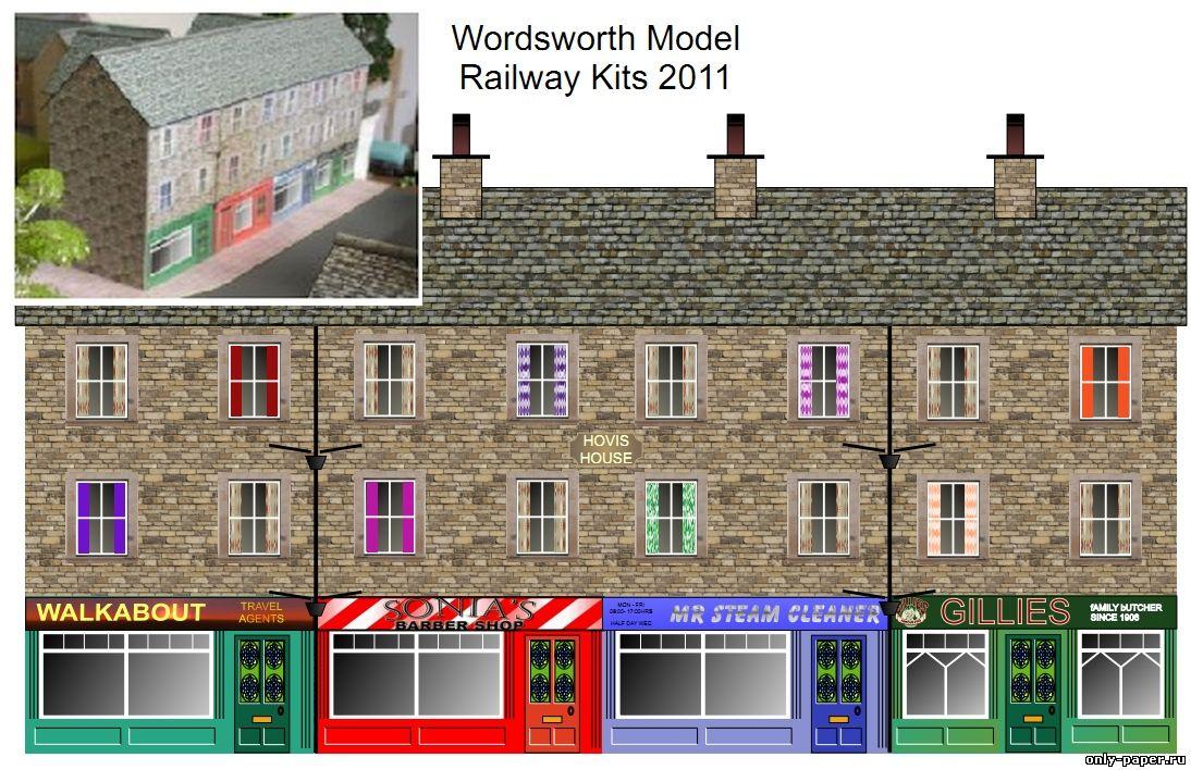 Кирпичный дом / Terrace Row из