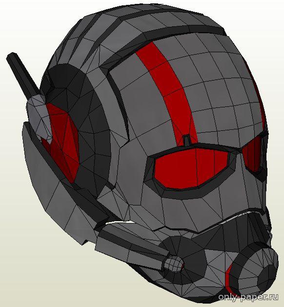 Как сделать из маску человека муравья