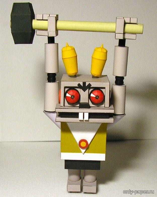 Робот из бумаги своими руками фото 621