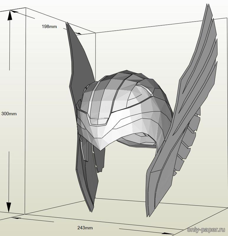 Как сделать из бумаги рыцарский шлем видео - ЛигоДизайн
