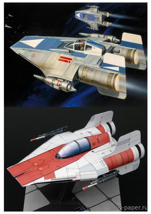 Модели космических кораблей звездные войны для склеивания