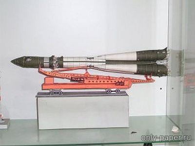 Как сделать ракета носитель фото 673
