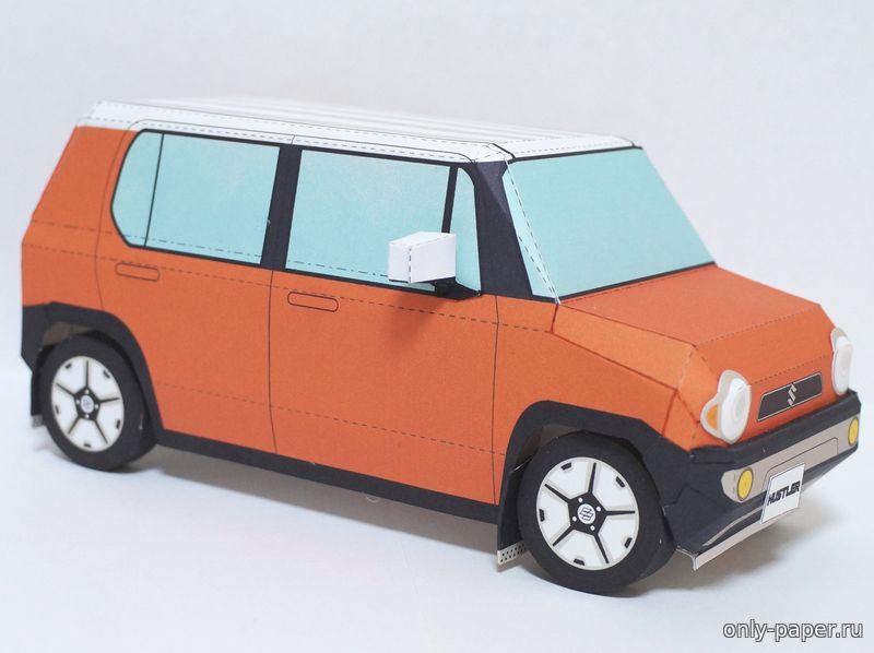 Модели suzuki из бумаги suzuki