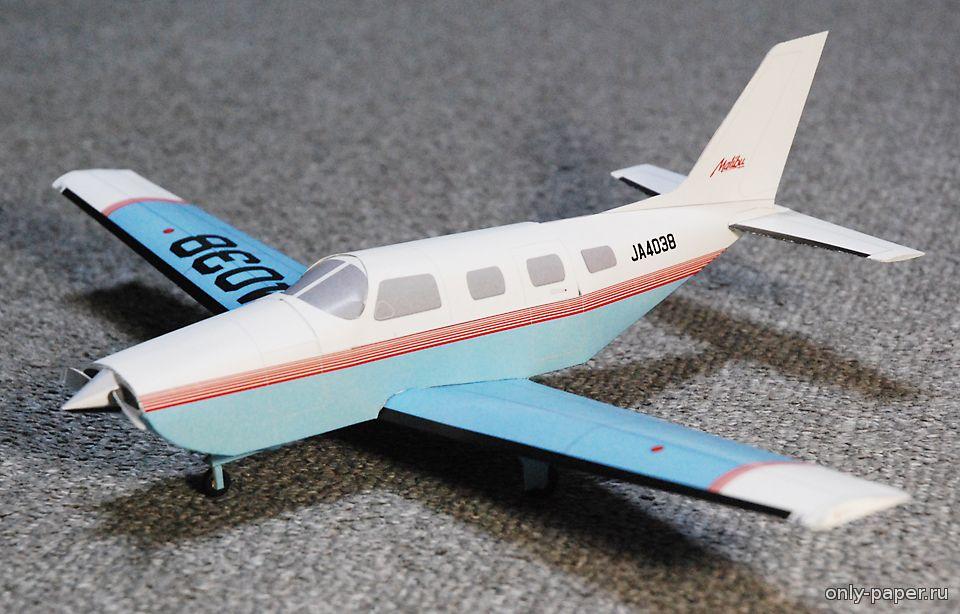 Как сделать самолёт из картона модель 885