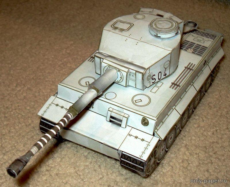 Модель танка из картона своими руками