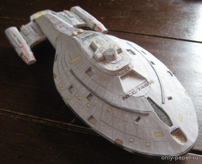Космические корабли из бумаги своими руками 30