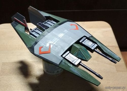 Бумажная модель Frazi class heavy fighter - Babylon 5 (Bhaad)
