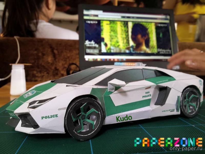 Lamborghini из бумаги, модели бумажные скачать бесплатно
