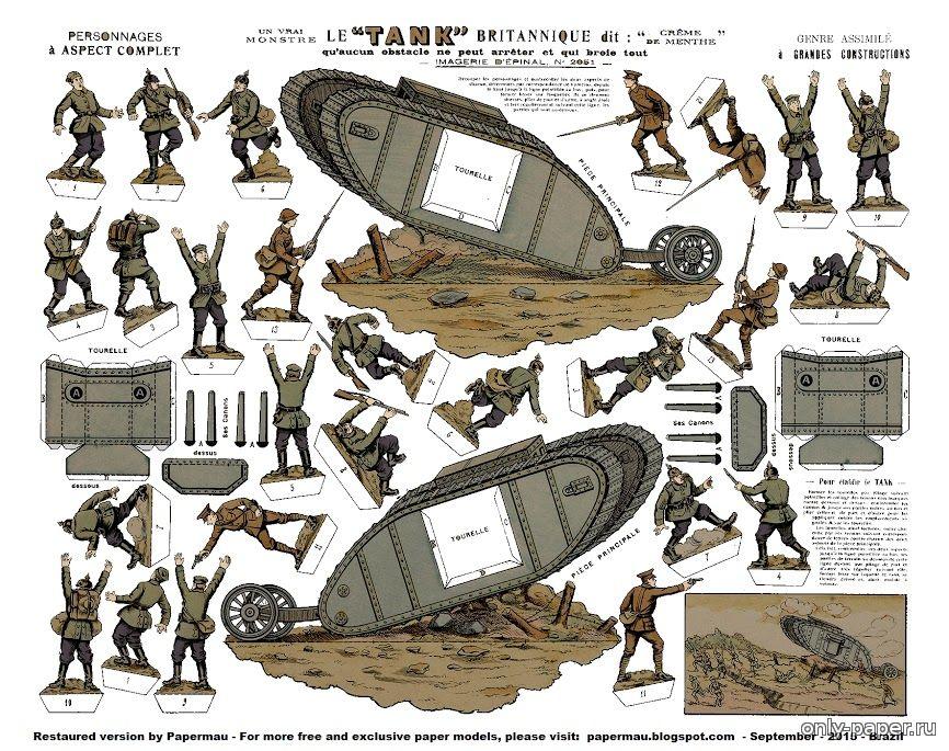 Танки второй мировой войны своими руками
