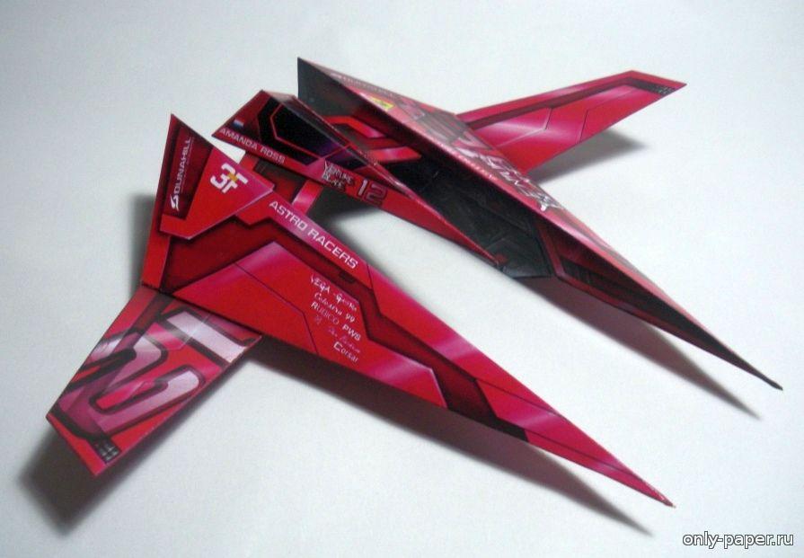 Космические корабли из бумаги своими руками 15