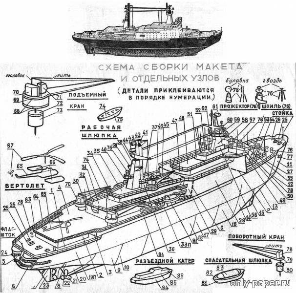 сборке арктика инструкция ледокол по модель
