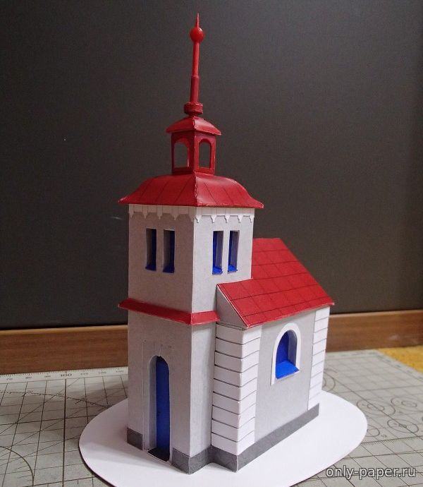 Сделать макет храма своими руками из бумаги 70