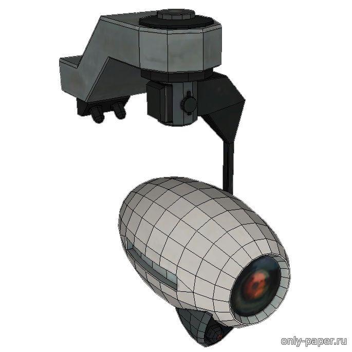 Фотоаппарат из бумаги