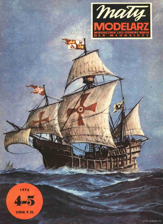 корабль колумба схема