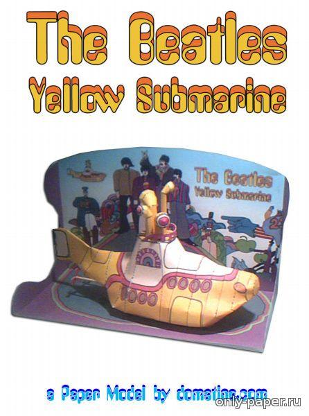 Желтая подводная лодка своими руками 40