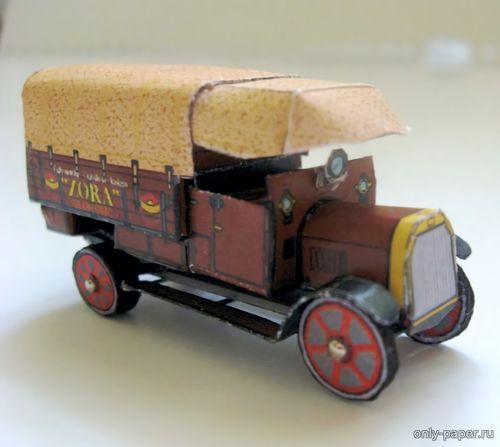 Модель грузовика Tatra TL 2 из бумаги/картона