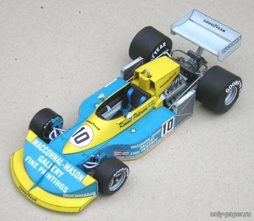 Бумажная модель March 761 - Ronnie Peterson 1976 (J Polak)