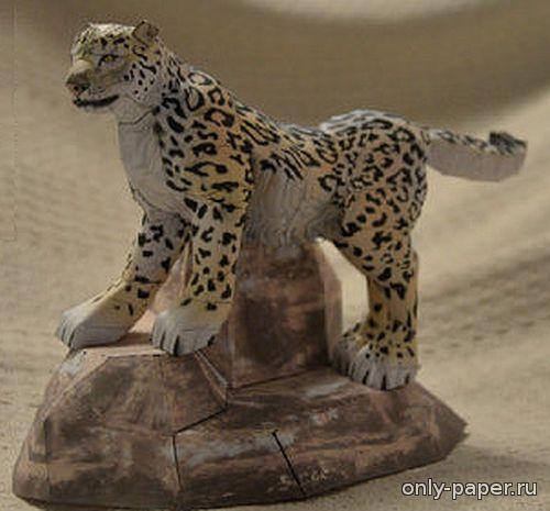 Как сделать из бумаги леопард