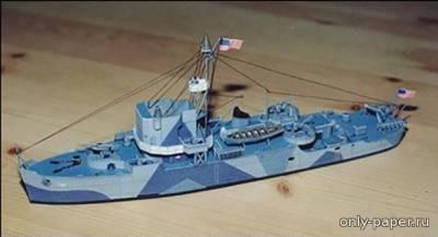 Модель корабля Admirable из бумаги/картона