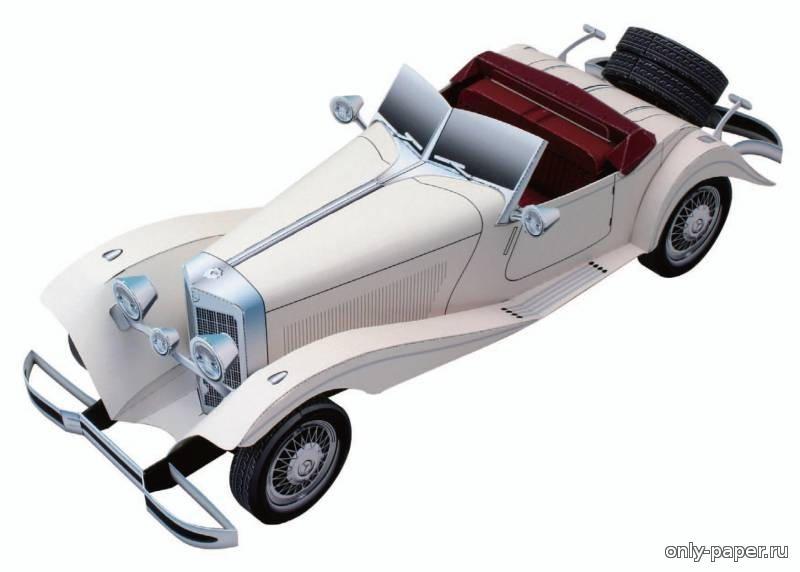 Как сделать из бумаги машину кабриолет