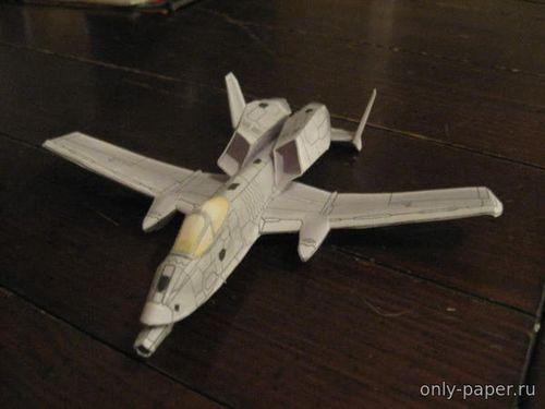 Бумажная модель самолета Boeing S/A-10D Thunderstrike