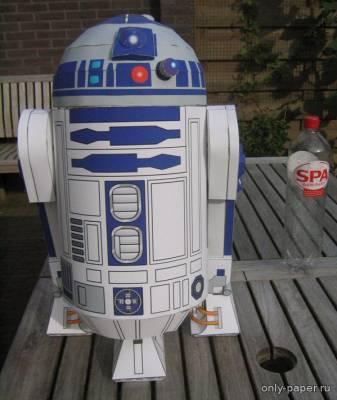 Бумажная модель дроида R2D2