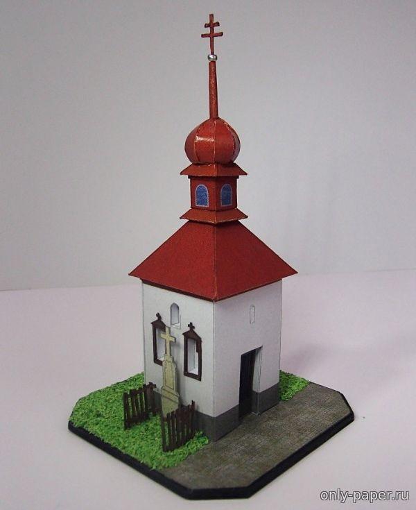 Сделать макет храма своими руками из бумаги 43
