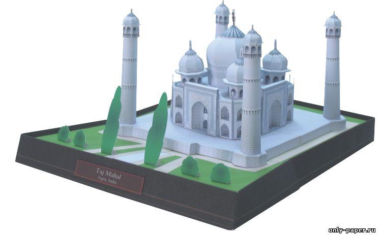 Как сделать макет мечети из бумаги своими руками 93
