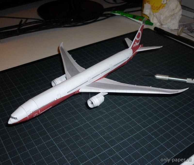 Фото бумажной модели самолета