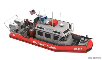 Бумажная модель US Coast Guard Response Boat small (Paper-Replika)