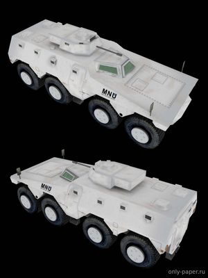 Бумажная модель MNU APC (DISTRICT 9) (Peri Paperhobby)