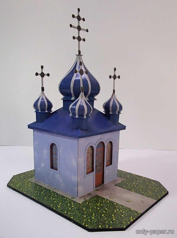 Сделать макет храма своими руками из бумаги 40