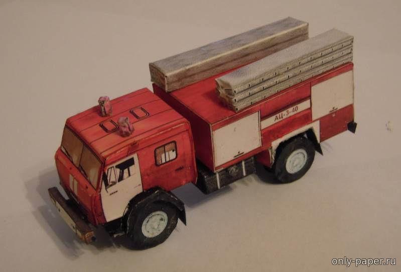 Пожарная машина из дерева своими руками 95