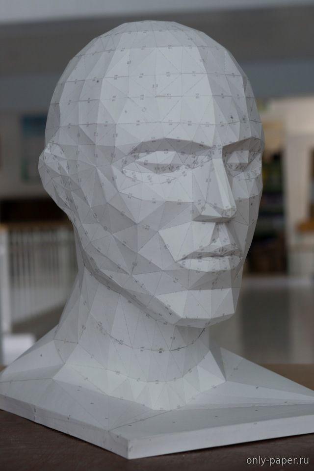 Как сделать человеческую голову из бумаги