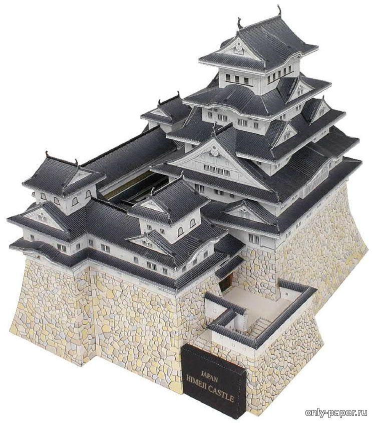 Макет китайской стены своими руками из бумаги