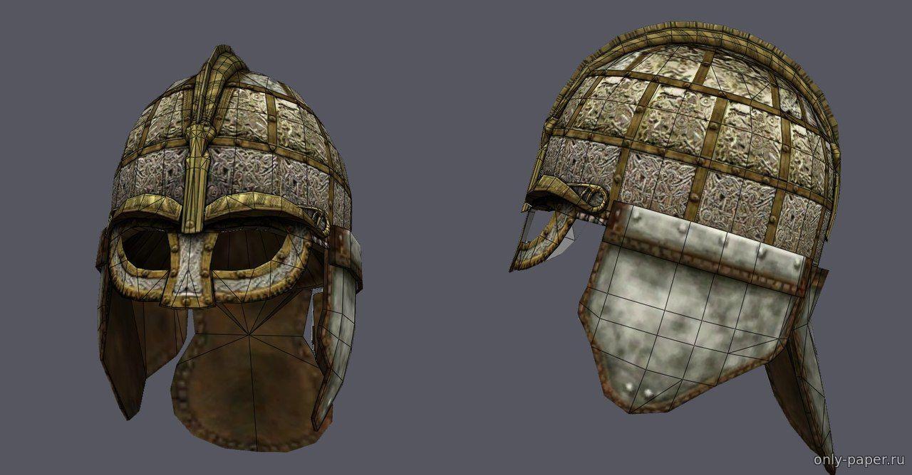 Шлем из картона своими руками схема фото 821