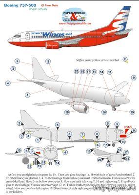 Самолеты боинг своими руками