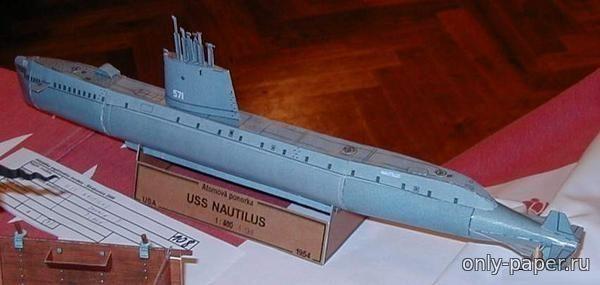Скачать выкройка подводных лодок из бумаги