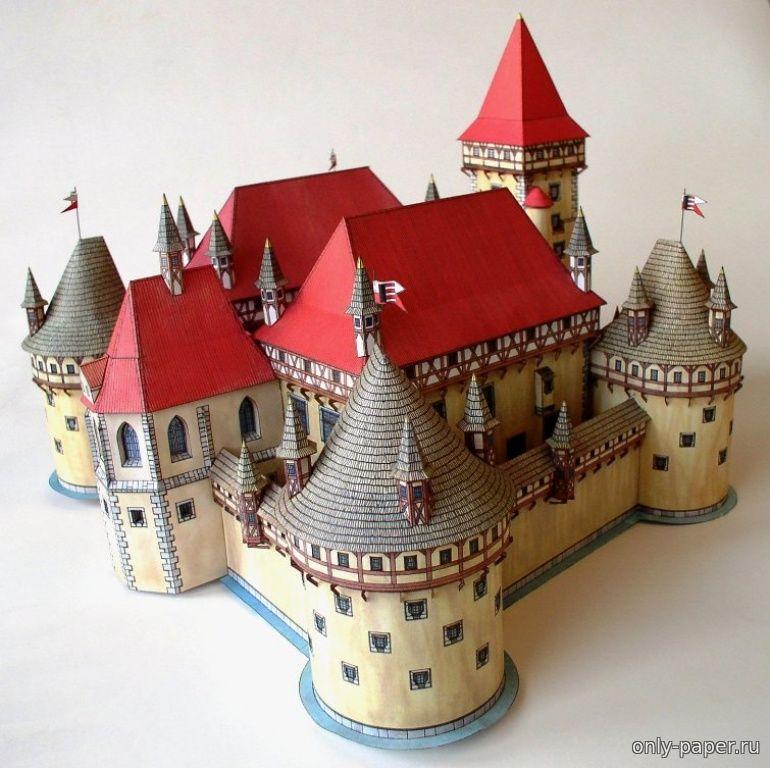 Замок своими руками построить 393