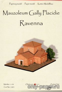 Бумажная модель Mauzoleum Gally Placidie Ravenna-Мавзолей Галлы Плацидии  ( Ondřej Hejl )