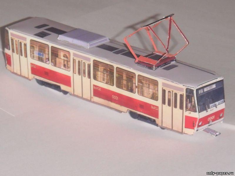 Трамвай для детей своими руками