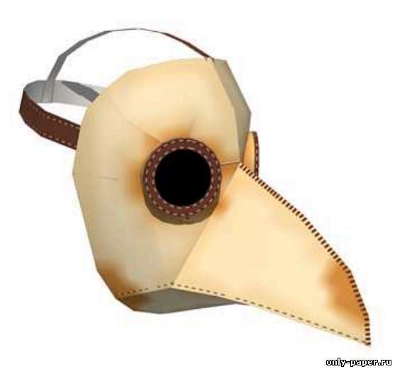 Чумной доктор маска название