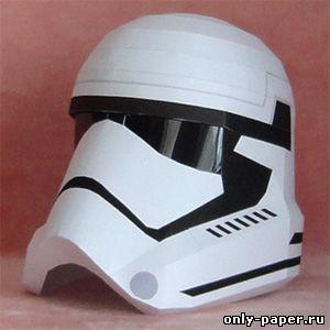 Шлем из бумаги мастер класс как сделать #5