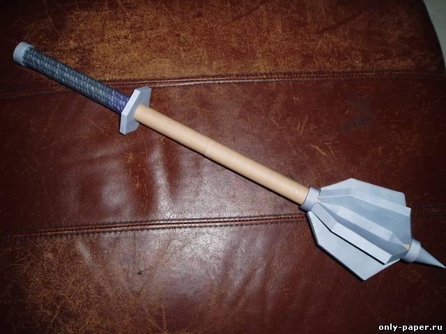Как сделать булаву своими руками в домашних условиях 16