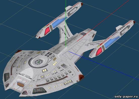 Как сделать корабль космический из бумаги