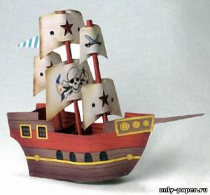 Пираты из из бумаги